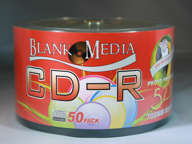 photograph relating to Printable Blank Cds identified as Blank Media CD-R Printable 50 pack shrink [BMCDP003] - R99